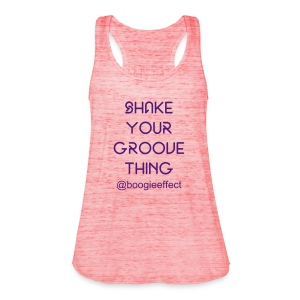 Shake Your Groove Racer Back Pink - Women's Tank Top by Bella