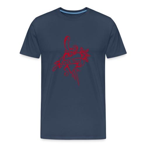 Männer Shirt mit Tattoo Motiv - Männer Premium T-Shirt