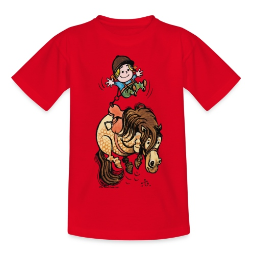 Thelwell Rodeo - Teenage T-Shirt