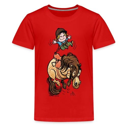 Thelwell Rodeo - Teenage Premium T-Shirt