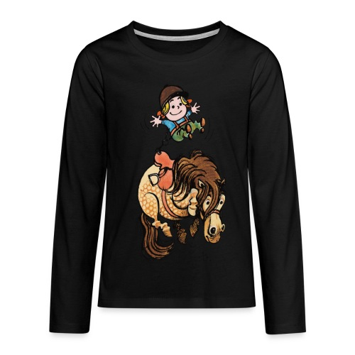 Thelwell Rodeo - Teenagers' Premium Longsleeve Shirt