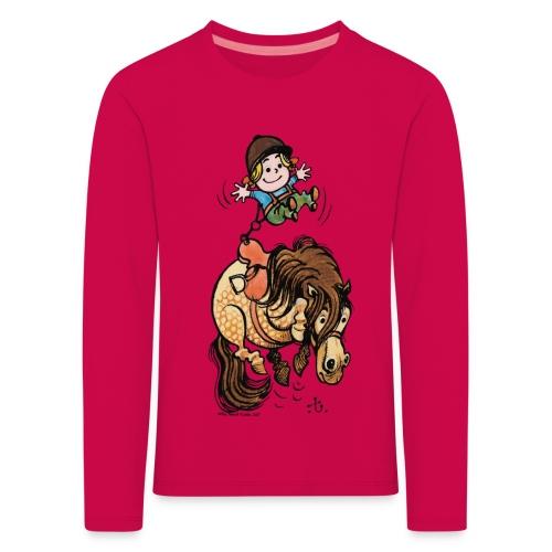 Thelwell Rodeo - Kinder Premium Langarmshirt