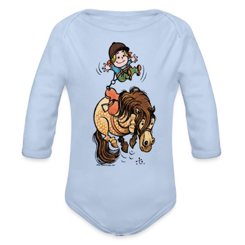 Thelwell Rodeo - Organic Longsleeve Baby Bodysuit