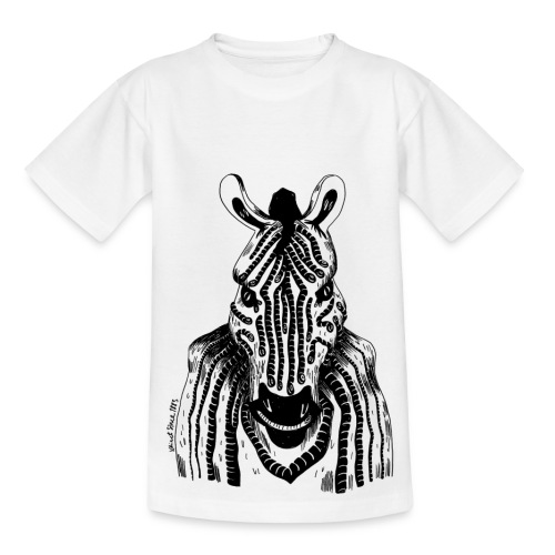 Sandra Barth Quagga - Teenager T-Shirt