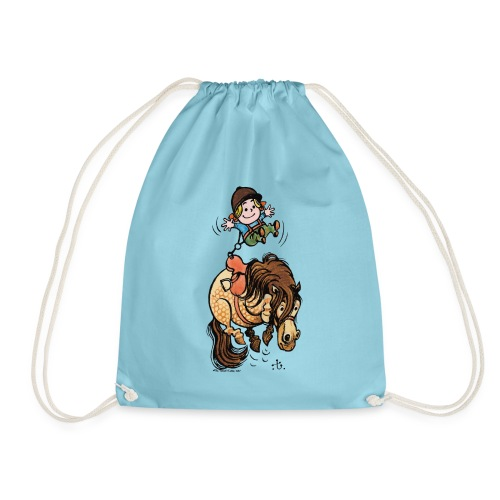 Thelwell Rodeo - Drawstring Bag