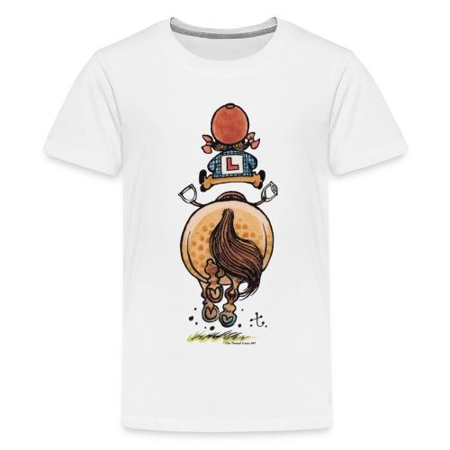 Thelwell Frühjahrsputz - Teenage Premium T-Shirt