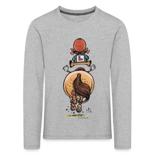 Thelwell Frühjahrsputz - Kinder Premium Langarmshirt