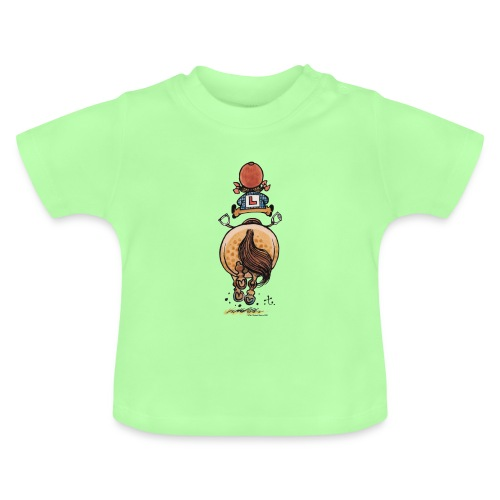 Thelwell Frühjahrsputz - Baby T-Shirt