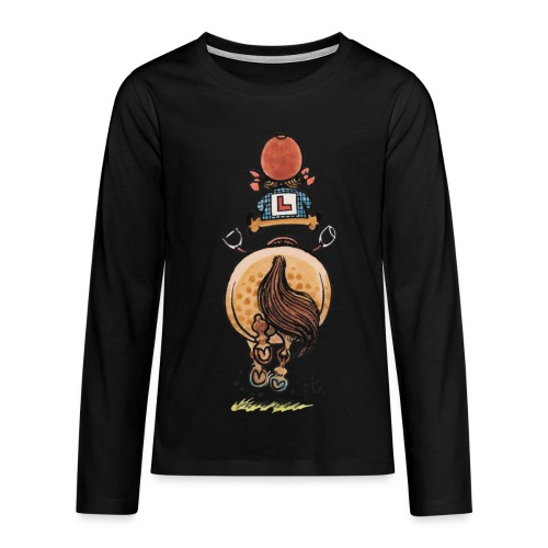 Thelwell Frühjahrsputz - Teenagers' Premium Longsleeve Shirt