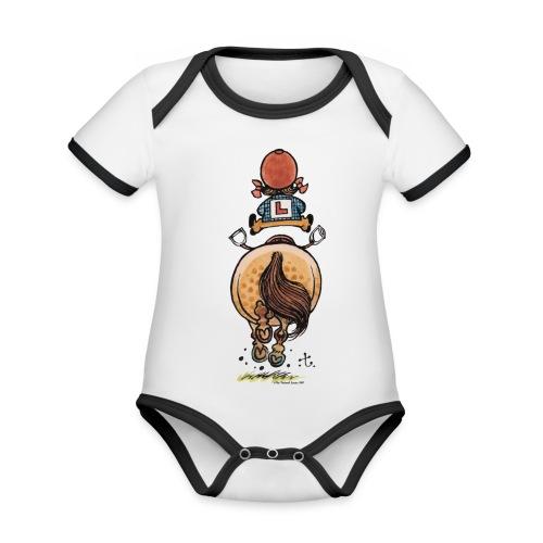 Thelwell Frühjahrsputz - Organic Baby Contrasting Bodysuit