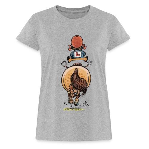 Thelwell Rennen - Frauen Oversize T-Shirt