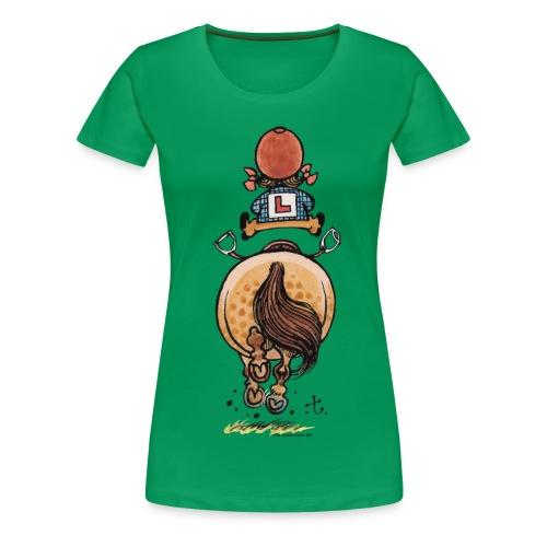 Thelwell Rennen - Frauen Premium T-Shirt