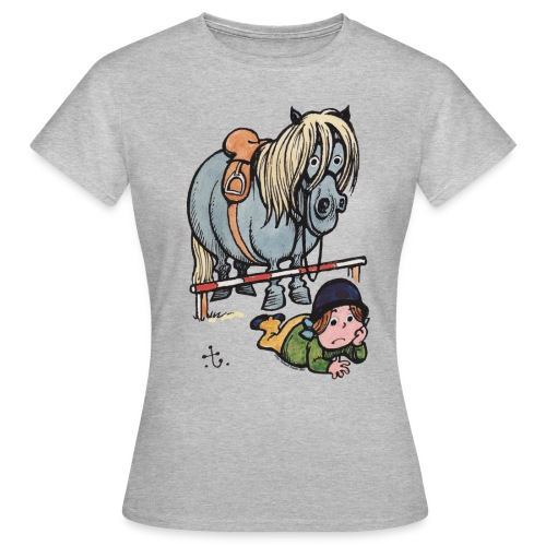 Thelwell Sturz - Frauen T-Shirt