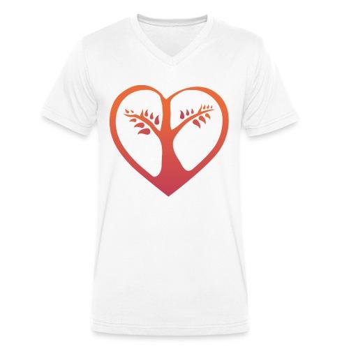 choose love Bio Tshirt Man - Männer Bio-T-Shirt mit V-Ausschnitt von Stanley & Stella
