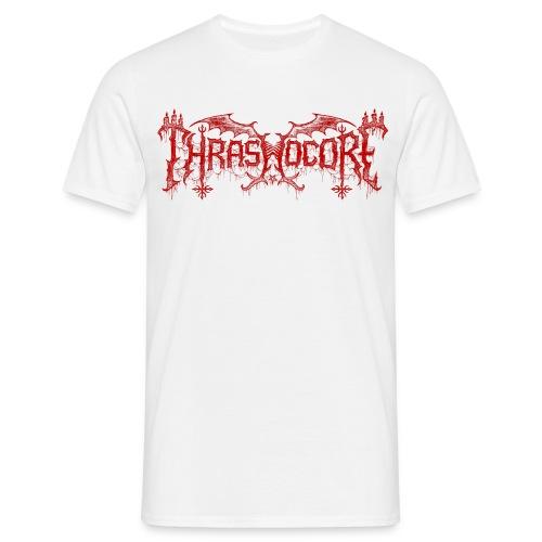 T-shirt homme Thrashocore rouge - Chris Moyen - T-shirt Homme