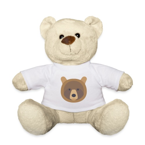 Isbjørn med BearArmyGaming logo - Teddy Bear