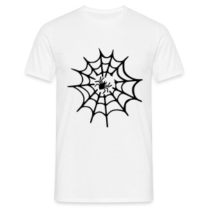 Men's T-shirt Spider Web - Men's T-Shirt