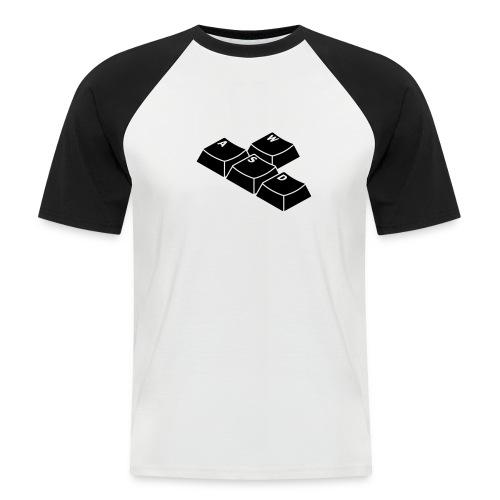 WASD - Männer Baseball-T-Shirt