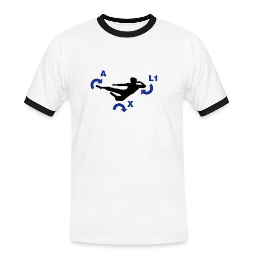 Fighter - Männer Kontrast-T-Shirt