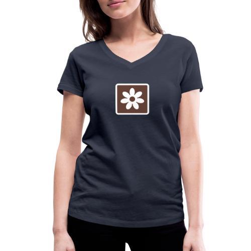 Swedish Scenic Route - Ekologisk T-shirt med V-ringning dam från Stanley & Stella