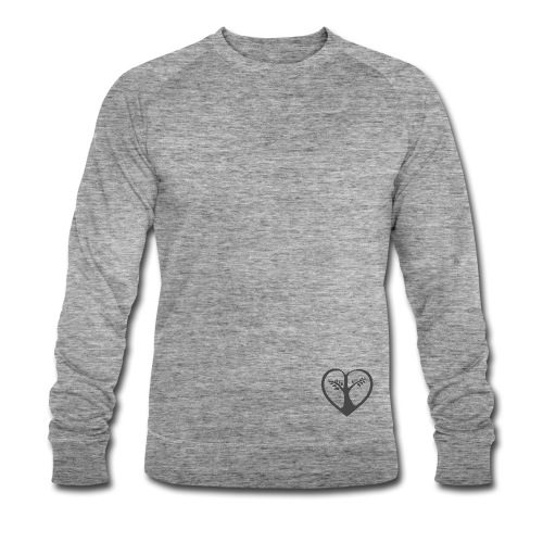 choose love klein Bio-Sweatshirt Man - Männer Bio-Sweatshirt von Stanley & Stella