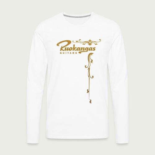 Ruokangas Longsleeve T-shirt - White - Men's Premium Longsleeve Shirt