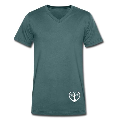 choose love klein Bio Tshirt Man - Männer Bio-T-Shirt mit V-Ausschnitt von Stanley & Stella
