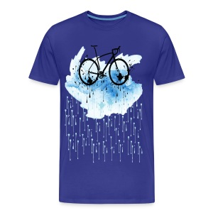Rainbow bicycle Premium T-Shirt - Men's Premium T-Shirt