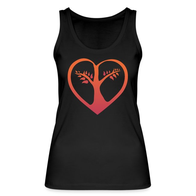 choose love Bio Tank Woman