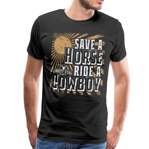 Save a Horse Mens Tee - Men's Premium T-Shirt