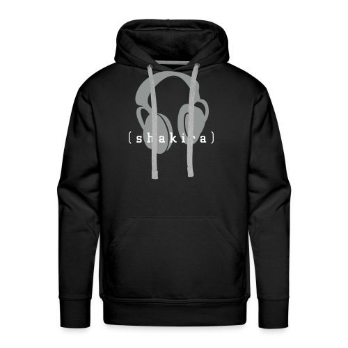 Listening to Shakira (black) - Men's Premium Hoodie