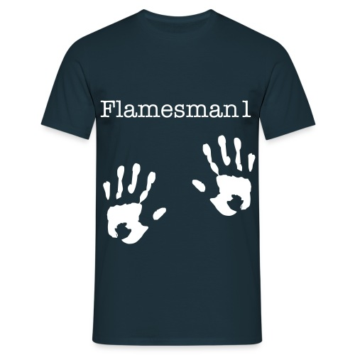 Flamesman1 Fan T-shirt - Herre-T-shirt