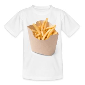 French Fries - Ado - Teenager-T-shirt