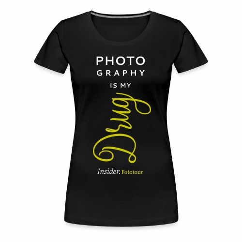 Photo - Drug - Frauen Premium T-Shirt