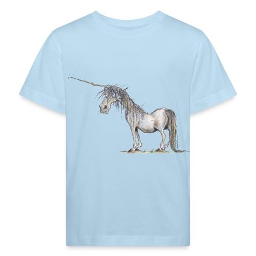 Einhorn t-shirt, Das allerletzte Einhorn - Kinder Bio-T-Shirt