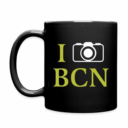 I photographed BCN (Barcelona) - Tasse einfarbig