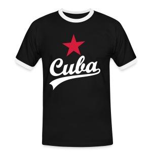 Retro Cuba - Mannen contrastshirt