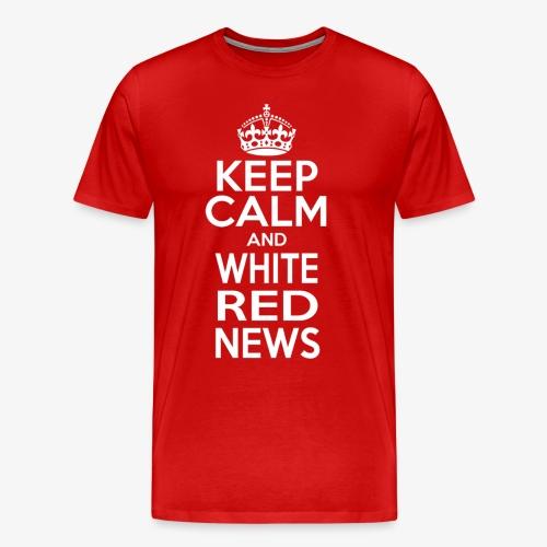 Maglietta Keep Calm WRN con firme FC Sudtirol - Maglietta Premium da uomo