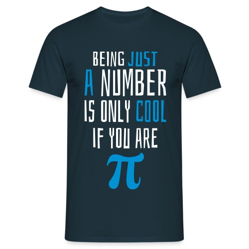 Zahl Pi Geek Spruch Pullover & Hoodies - Männer T-Shirt
