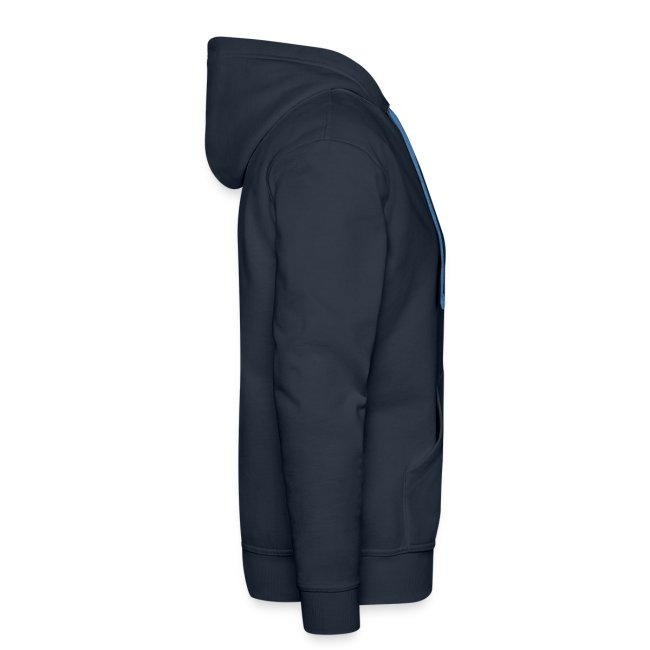 Hooded sweater, navy
