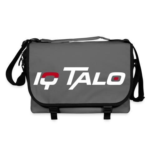 IQ Talo Umhängetasche Grau/Weiß Flockdruck - Umhängetasche