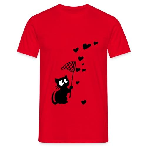 Heart catcher - Men's T-Shirt