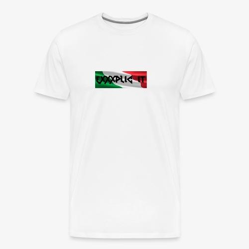 Exxxplic IT Box Logo Tee - Men's Premium T-Shirt
