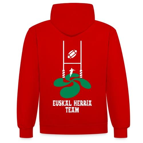 Euskal Herria Team - Sweat-shirt contraste