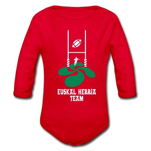 Euskal Herria Team - Body bébé bio manches longues