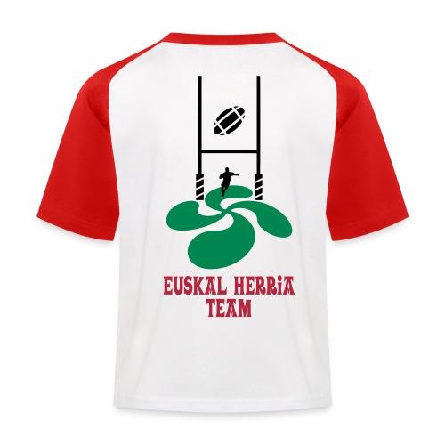 Euskal Herria Team - T-shirt baseball Enfant