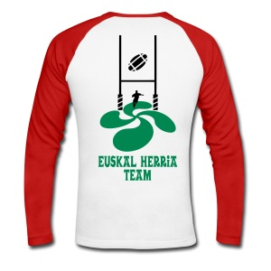 Euskal Herria Team - T-shirt baseball manches longues Homme