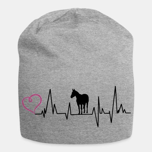 Quarterhorse Heartbeat Beanie - Jersey-Beanie