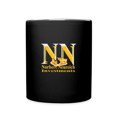 Coffee Invest - Der Verkaufsschlager in der Black Edition - Tasse einfarbig