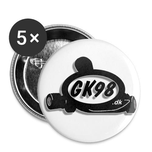 Badges - Buttons/Badges mellemstor, 32 mm (5-pack)